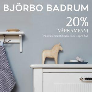 Vårkampanj Björbo på Golvman i Vänersborg