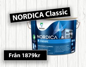 Kampanj på Nordica classic på Golvman i Vänersborg