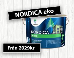Kampanj på Nordica eko på Golvman i Vänersborg